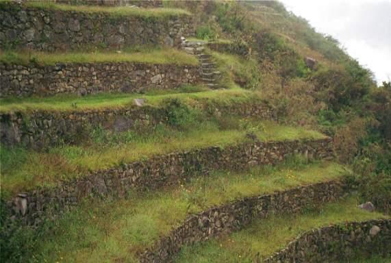 Indianer welt inka bild terrassenanlagen for Terrassenanlagen bilder