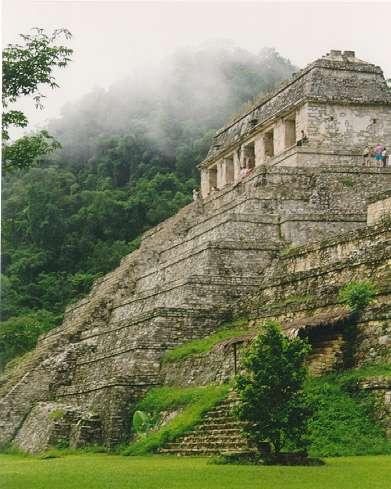 pyramide de Palenque Chiapas
