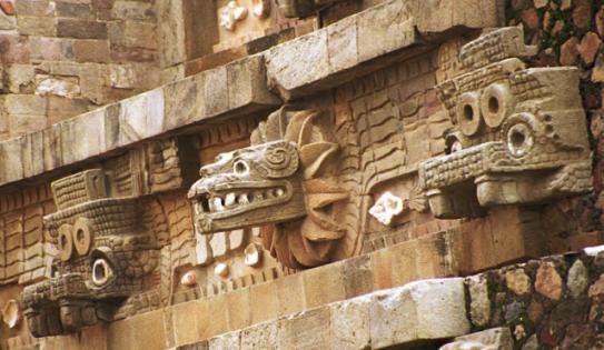 Indianer-Welt: Azteken - Götter - Bild: Quetzalcoatl